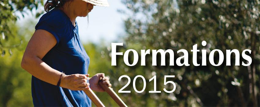 Découvrez le programme des formations 2015