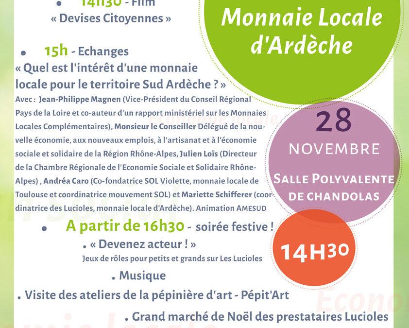 Journée évènement autour de la Monnaie Locale Les Lucioles