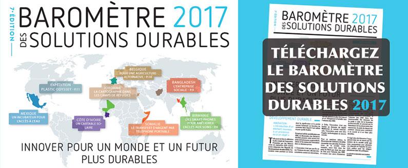 Baromètre des Solutions durables 2017