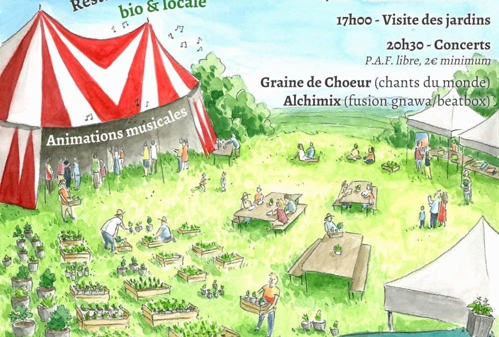 Rendez-vous le samedi 27 avril pour la Bourse aux Plants et AG de Terre & Humanisme !