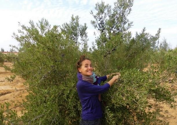 Découvrez le portrait de Soraya, animatrice en agroécologie égyptienne