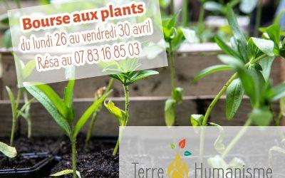Bourse aux plants décalée du 26 au 30 avril / spécial confinement